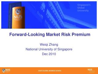 Forward-Looking Market Risk Premium