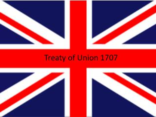 Treaty of Union 1707