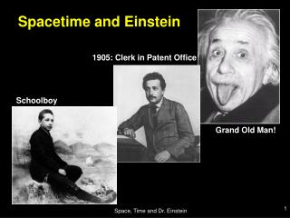 Space Time and Dr. Einstein