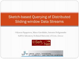 Sketch-based Querying of Distributed Sliding-window Data Streams