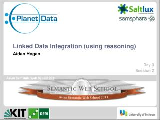Linked Data Integration (using reasoning)