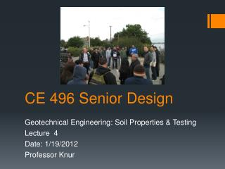 CE 496 Senior Design