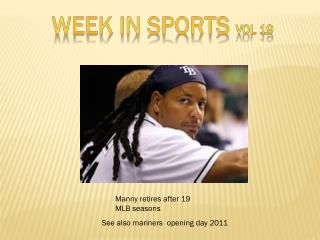WEEK IN SPORTS  vol  19