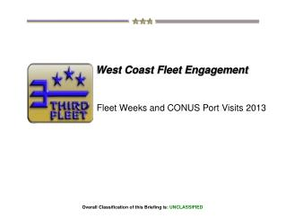 West Coast Fleet Engagement