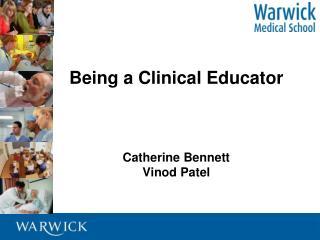 Catherine Ben nett Vinod  Patel