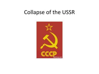 Collapse of the USSR