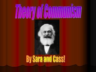 Theory of Communism