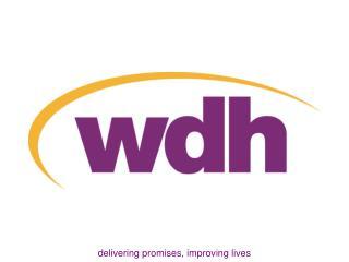 delivering promises, improving lives