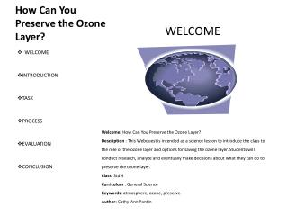 How Can You Preserve  the Ozone  Layer?