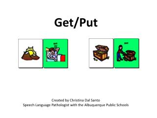 Created  by Christina  Dal Santo Speech Language  Pathologist  with the Albuquerque Public Schools