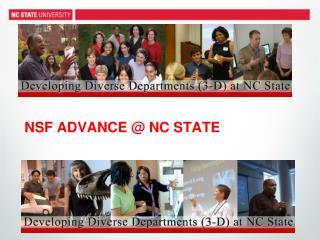 NSF ADVANCE @ NC STATE