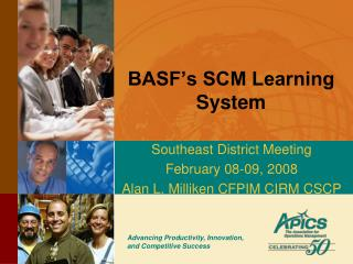 BASF's SCM Learning System
