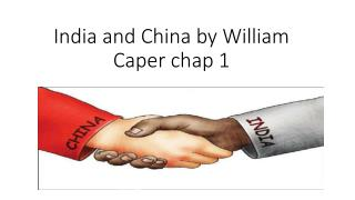 India and China by William Caper chap 1