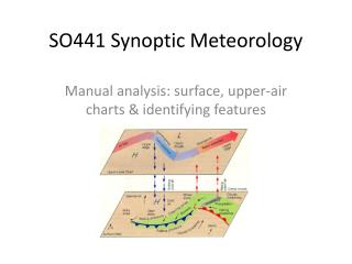 SO441 Synoptic Meteorology