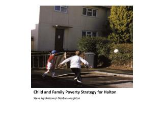Child and Family Poverty Strategy for Halton