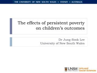 The effects of persistent poverty on children's outcomes