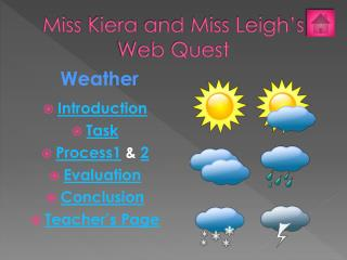 Miss  Kiera  and Miss Leigh's Web Quest
