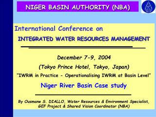 NIGER BASIN AUTHORITY (NBA)
