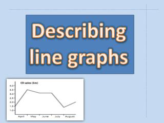 Describing line graphs