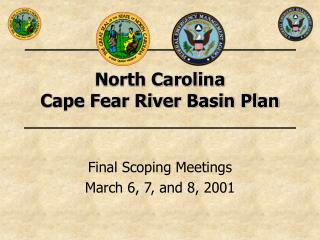 North Carolina  Cape Fear River Basin Plan