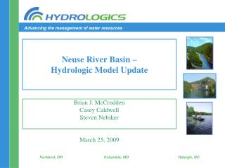 Neuse River Basin – Hydrologic Model Update