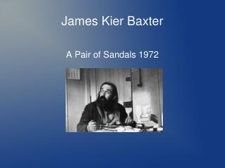 James Kier Baxter