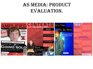 AS Media: Product Evaluation.
