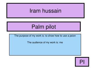 Iram hussain