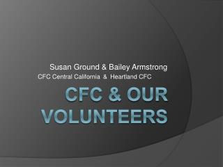 CFC & Our volunteers