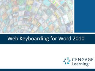 Web Keyboarding for Word 2010