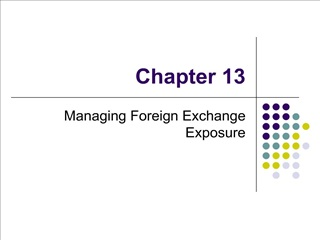 Managing Foreign Exchange Exposure