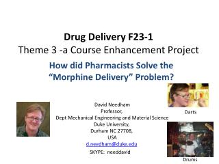Drug Delivery F23-1 Theme 3 -a Course Enhancement Project