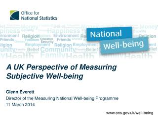 A UK Perspective of Measuring Subjective Well-being