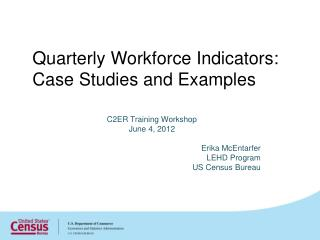 Quarterly Workforce Indicators: Case Studies and Examples