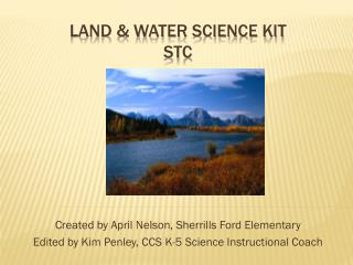 Land & Water Science Kit STC