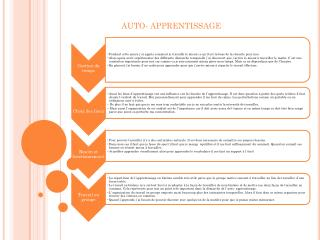 AUTO- APPRENTISSAGE