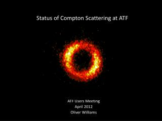 Status of Compton Scattering at ATF