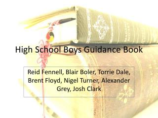 High School Boys Guidance Book