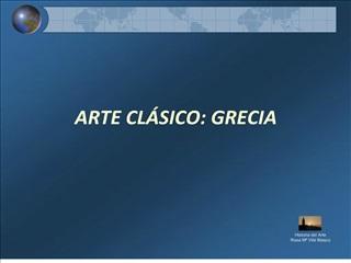 ARTE CL SICO: GRECIA