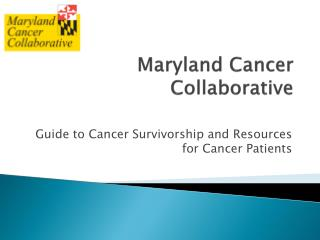 Maryland Cancer Collaborative