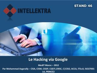 Le Hacking via Google