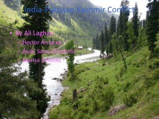 India-Pakistan Kashmir Conflict