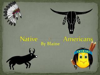 Native A Native Americans
