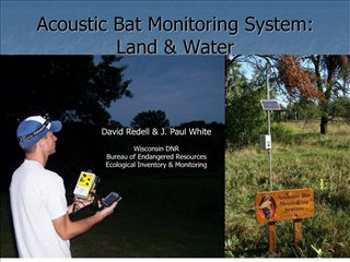 Acoustic Bat Monitoring System:  Land  Water