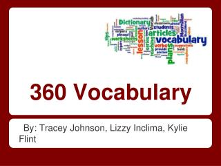 360 Vocabulary