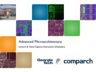 Advanced  Microarchitecture