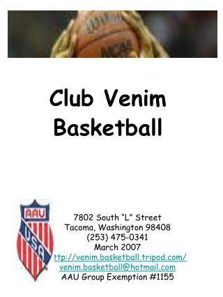 Club Venim Basketball