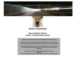 MINDFUL DESIGN PRACTICE DZ 52005