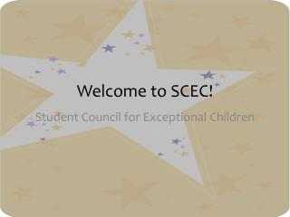 Welcome to SCEC!