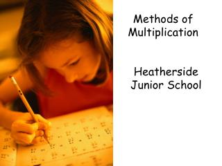 Methods of Multiplication